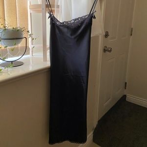 La Senza black slip dress